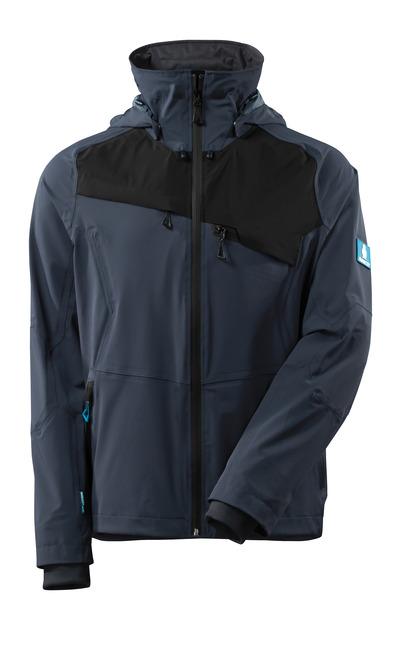 MASCOT® ADVANCED - Schwarzblau/Schwarz - Jacke, Vier-Wege-Stretchstoff, wasserdicht, geringes Gewicht