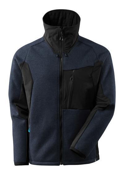 MASCOT® ADVANCED - Schwarzblau/Schwarz - Strickjacke mit Membran
