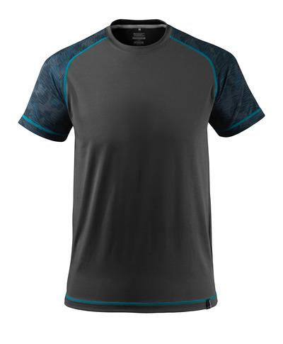 MASCOT® ADVANCED - Schwarz - T-Shirt, feuchtigkeitstransportierend, moderne Passform