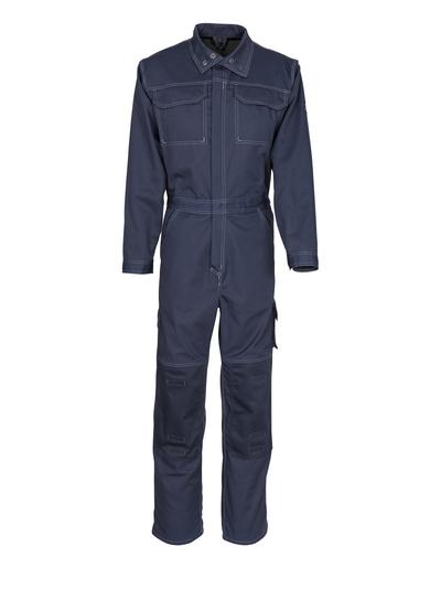 MASCOT® Akron - Schwarzblau - Overall mit Knietaschen, geringes Gewicht