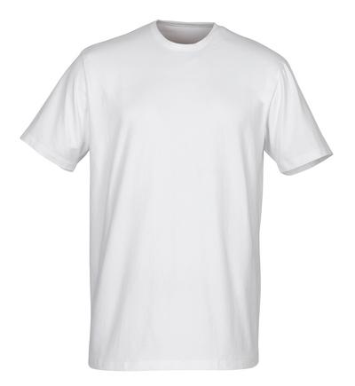 MASCOT® Argana - Weiß - Unterhemd mit kleinem V-Ausschnitt und kurzen Ärmeln, moderne Passform