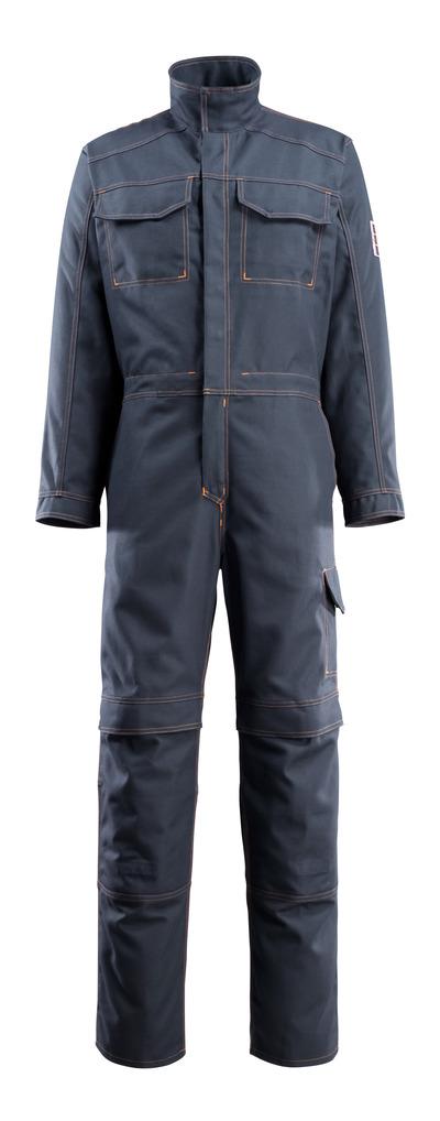 MASCOT® Baar - Schwarzblau - Overall mit Knietaschen, Multischutz