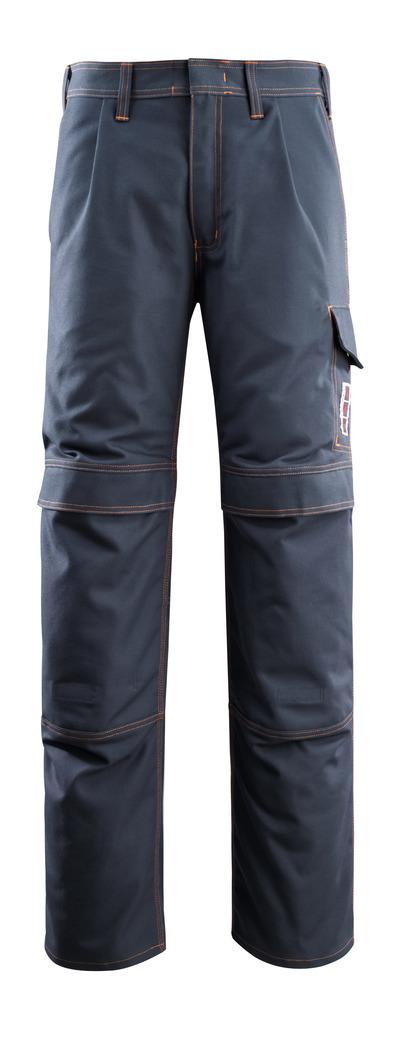 MASCOT® Bex - Schwarzblau - Hose mit Knietaschen, Multischutz