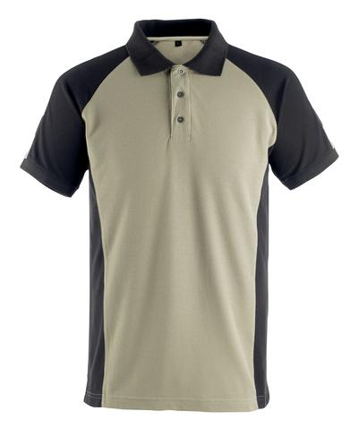 MASCOT® Bottrop - Hellkhaki/Schwarz* - Polo-Shirt
