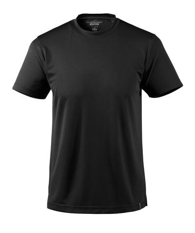 MASCOT® CROSSOVER - Schwarz - T-Shirt, feuchtigkeitstransportierendes CoolDry, moderne Passform
