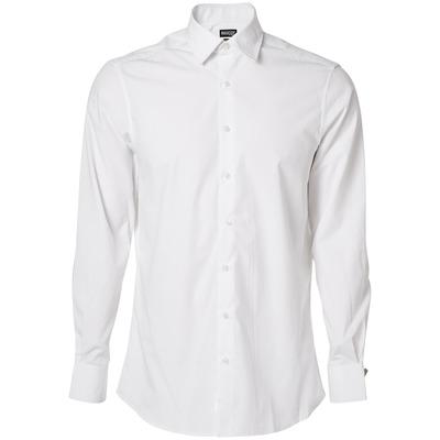 MASCOT® CROSSOVER - Weiß - Hemd, Poplin, moderne Passform