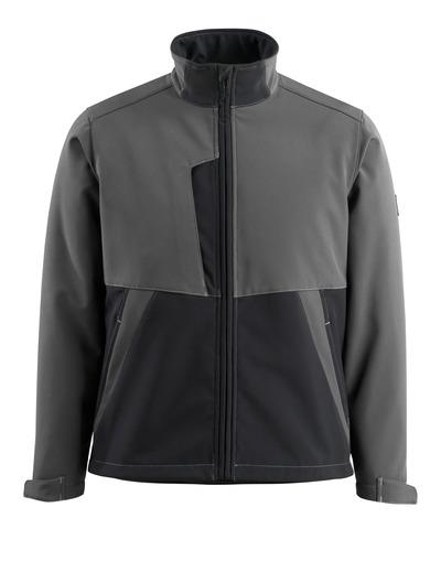 MASCOT® Finley - Dunkelanthrazit/Schwarz - Soft Shell Jacke mit Fleece innen