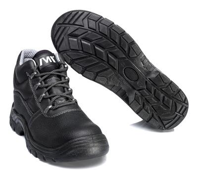 MACMICHAEL® Greenhorn - Schwarz - Sicherheitsstiefel S3 mit Schnürsenkeln