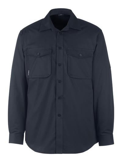 MASCOT® Greenwood - Schwarzblau - Hemd, moderne Passform