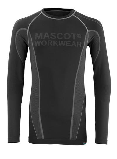 MASCOT® Hamar - Schwarz - Funktionsunterhemd, feuchtigkeitstransportierend, isolierend