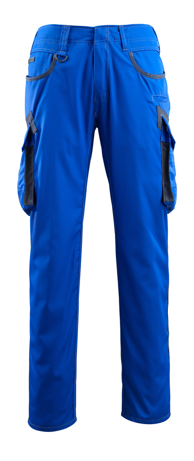 MASCOT® Ingolstadt - Kornblau/Schwarzblau - Hose mit Schenkeltaschen, extra geringes Gewicht
