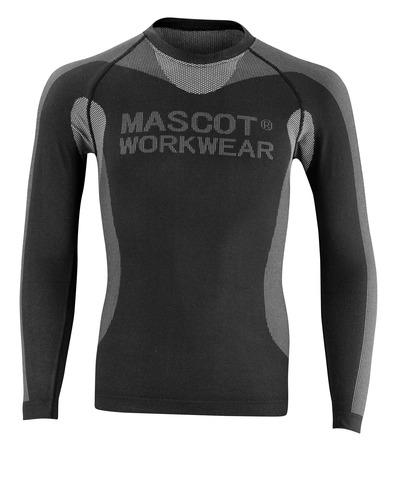 MASCOT® Lahti - Schwarz - Funktionsunterhemd, geringes Gewicht, isolierend