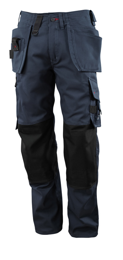 MASCOT® Lindos - Schwarzblau - Hose mit CORDURA®-Knietaschen und Hängetaschen, geringes Gewicht