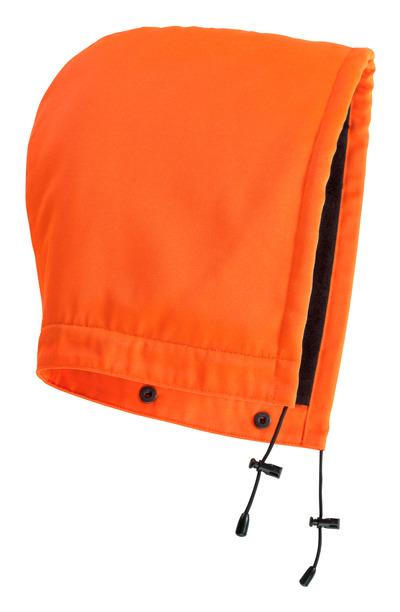 MASCOT® MacAllen - hi-vis Orange - Kapuze mit Druckknöpfen