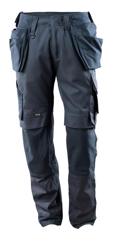 MASCOT® Madrid - Schwarzblau - Hose mit CORDURA® Knie- und Hängetaschen, Stretch-Einsätze, hohe Strapazierfähigkeit