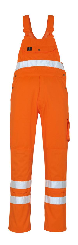MASCOT® Maine - hi-vis Orange* - Latzhose mit Knietaschen