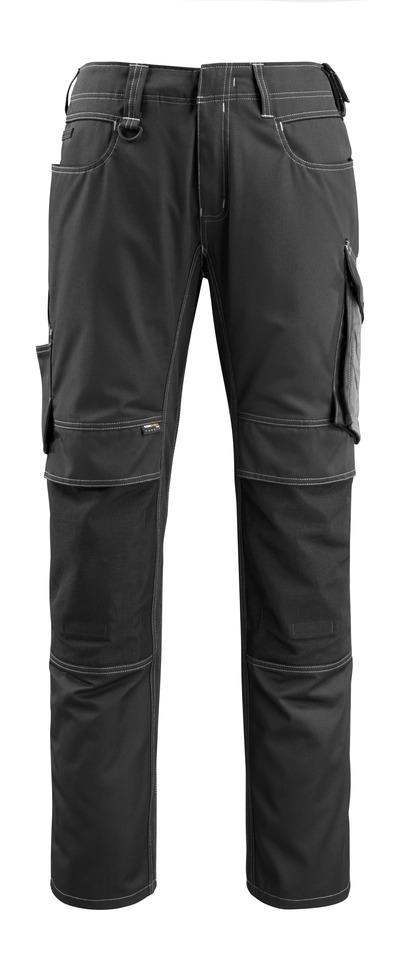 MASCOT® Mannheim - Schwarz/Dunkelanthrazit - Hose mit CORDURA® Knietaschen, geringes Gewicht