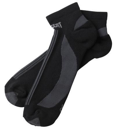 MASCOT® Maseru - Schwarz/Dunkelanthrazit - Socken, kurzes Modell, feuchtigkeitstransportierend