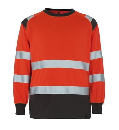 MASCOT® Montijo - hi-vis Rot/Dunkelanthrazit* - Sweatshirt, großzügige Passform, Klasse 2