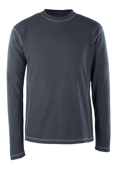 MASCOT® Muri - Schwarzblau - T-Shirt, Langarm, Multischutz, moderne Passform