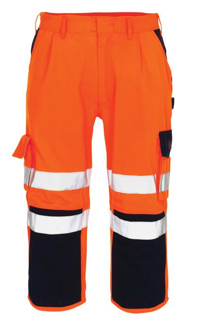 MASCOT® Natal - hi-vis Orange/Marine* - Dreiviertel-Hose mit Knietaschen