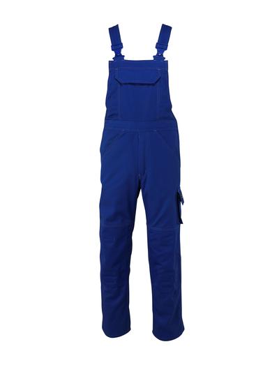 MASCOT® Omaha - Kornblau - Latzhose mit Knietaschen, hohe Strapazierfähigkeit