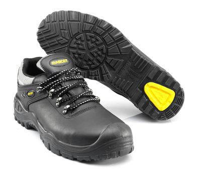 MASCOT® Oro - Schwarz/Gelb - Sicherheitshalbschuh S3 mit Schnürsenkeln