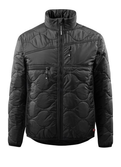 MASCOT® Palencia - Schwarz - Jacke mit Futter, hoher Kragen und hohe Isolierungsfähigkeit