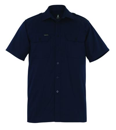 MASCOT® Savannah - Marine - Hemd, Kurzarm, großzügige Passform