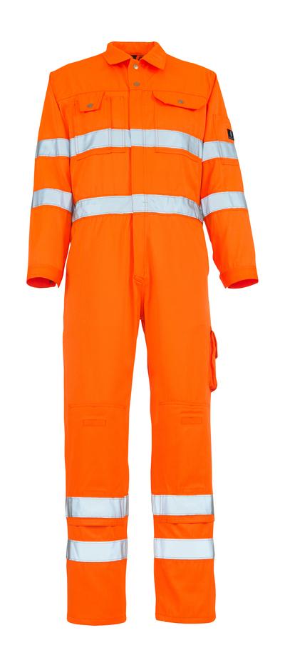 MASCOT® Utah - hi-vis Orange - Overall mit Knietaschen, Klasse 3