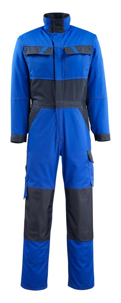 MASCOT® Wallan - Kornblau/Schwarzblau - Overall mit Knietaschen, geringes Gewicht