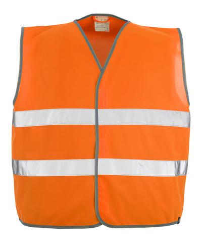 MASCOT® Weyburn - hi-vis Orange - Warnweste mit Klettverschluss, Klasse 2