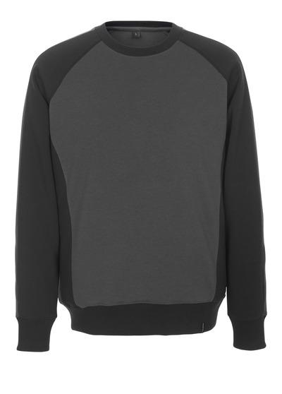MASCOT® Witten - Dunkelanthrazit/Schwarz - Sweatshirt, moderne Passform