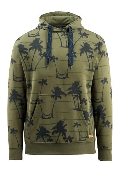 MASCOT® Woodside - Moosgrün* - Kapuzensweatshirt
