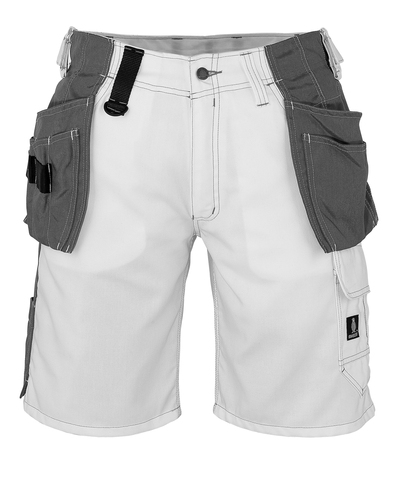 MASCOT® Zafra - Weiß - Shorts mit CORDURA® Hängetaschen, geringes Gewicht